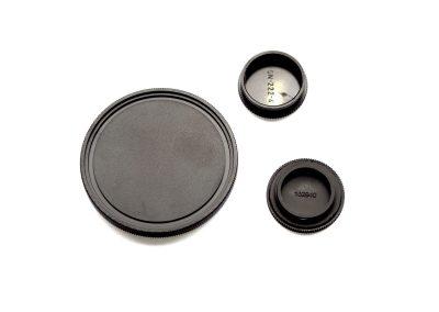 Objektivschutzkappe mit Feingewinde innen/außen geschraubt (ABS/PP/PE)